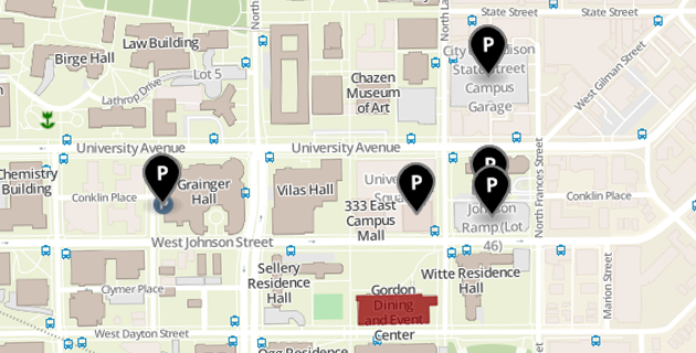 Campus map of Gordon